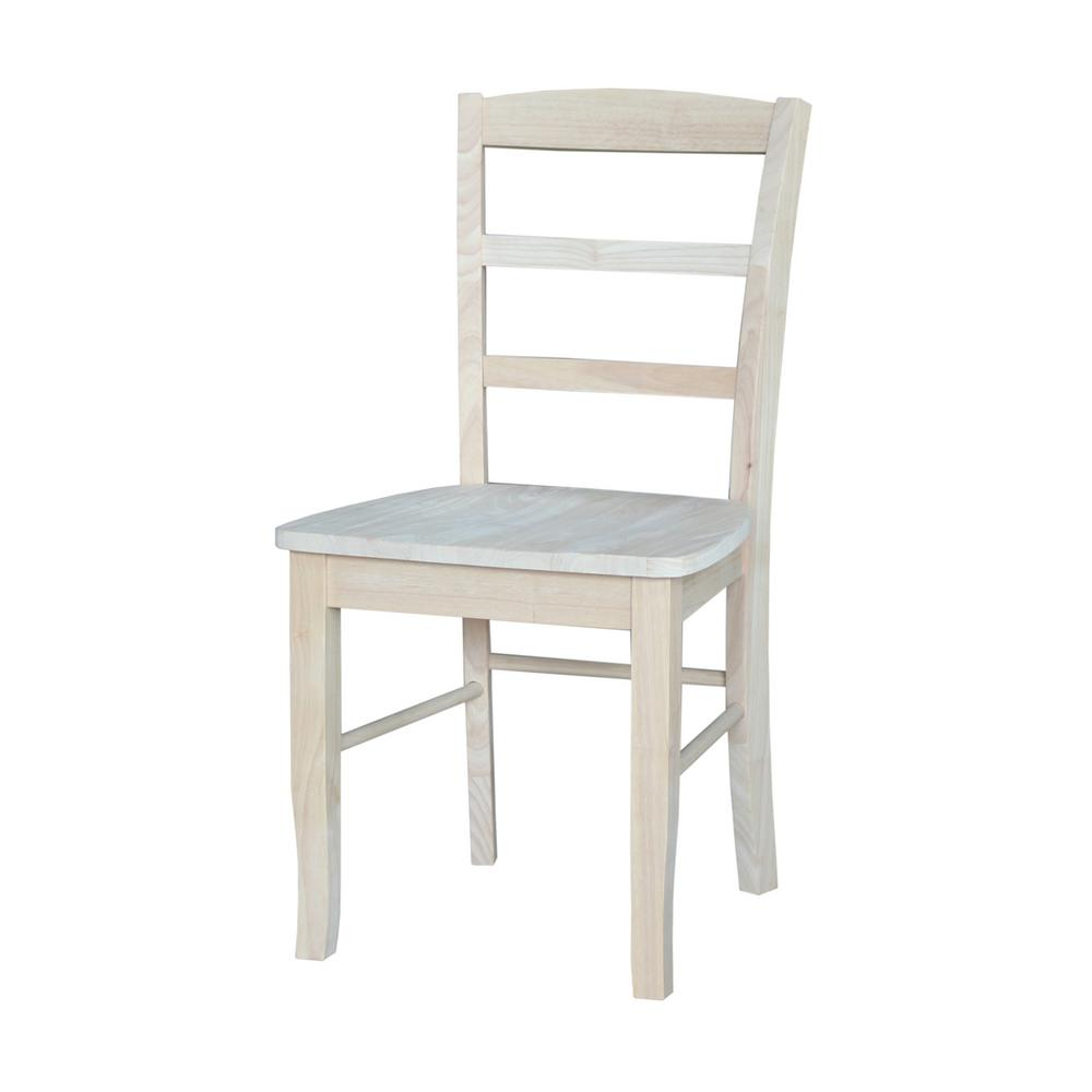 Unfinished International Concepts Dining Chairs