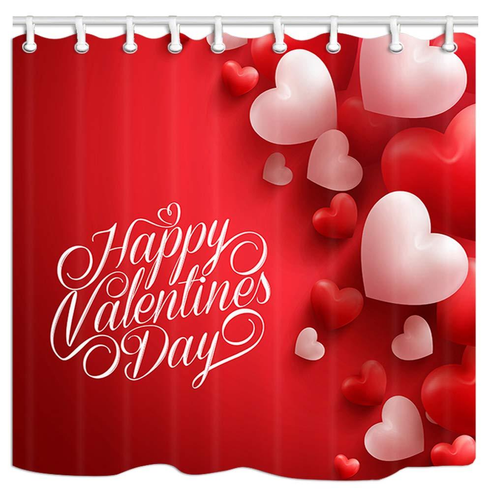 Jawo Valentines Day Shower Curtain