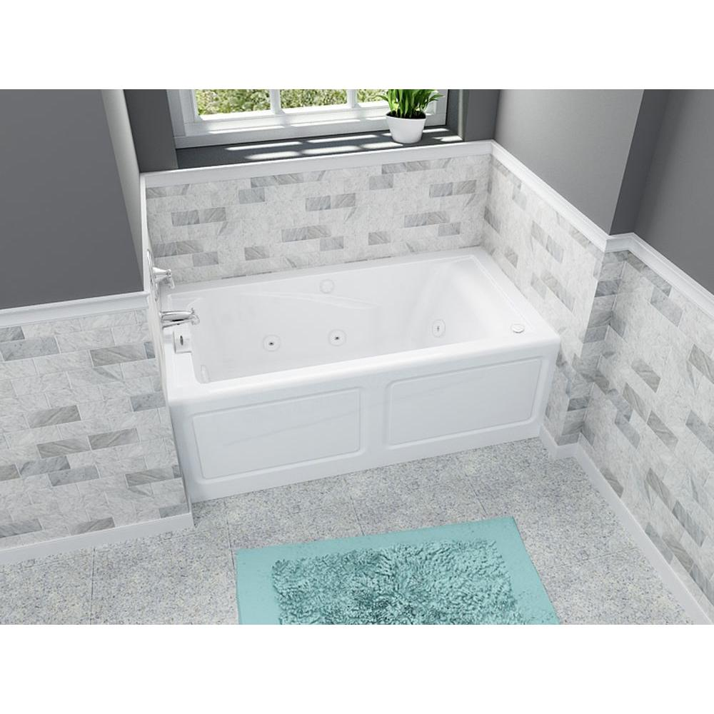 American Standard Everclean 60 In X 32 In Left Drain