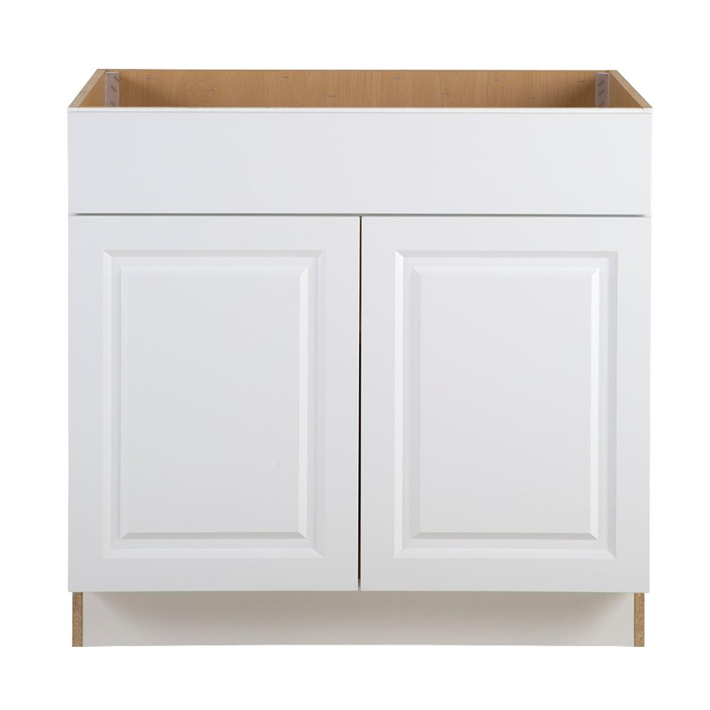kitchen sink base cabinet with drawers hampton bay benton assembled 36 in x 24 5 in x 34 5 in 22005
